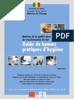 Guide Des Bonnes Pratiques d Hygiene - Edition 2011