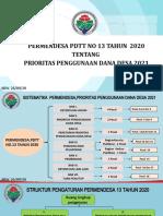Permendesa Prioritas Penggunaan Dana Desa 2021-1.pptx