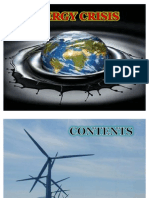 energy crisis and its alternatives resources