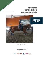 Manual de formação Bem-estar e Maneio Equino (1)