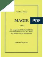 Köpke, Matthias - MAGIE, 1. Auflage, 2020