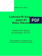 Köpke, Matthias - Ludendorffs Kampf gegen die Hitlerdiktatur; 2. Auflage