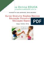 curso basico em educaçao psicomotora