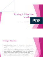 strategii didactice moderne