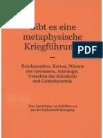 Köpke, Matthias - Gibt es eine metaphysische Kriegführung?, 2. Auflage