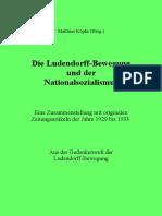 Köpke, Matthias - Die Ludendorff-Bewegung und der Nationalsozialismus, 6. Auflage