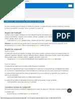 Indicatif ou subjonctif  - cours de grammaire française babla