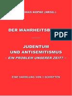 Köpke, Matthias - Der Wahrheitsbeweis; Judentum und Antisemitismus - Ein Problem unserer Zeit?, 1. Auflage