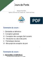 Cours de Ponts - Généralités