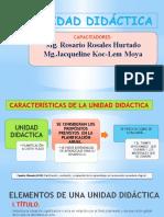 PPT UNIDADES DE APRENDIZAJE 06.11.19