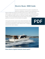 Hybrid and Electric Boats (1)