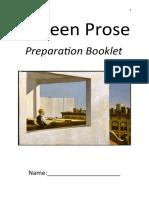 unseen prose preparation booklet