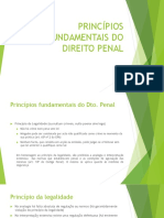 PRINCIPIOS FUNDAMENTAIS DO DTO PENAL