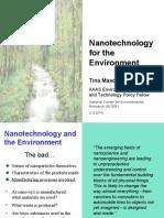 nanotechnology for the enviroment