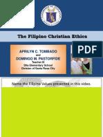 FILIPINO CHRISTIAN ETHICS