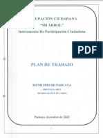 Plan de Gobierno Mi Arbol Municipio Padcaya