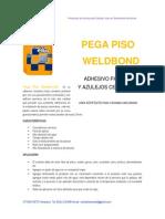 Especificaciones Tecnicas Piso Weldbond