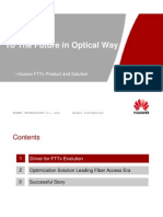 Huawei FTTx Product and Solution