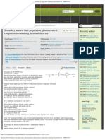 European Patent Foundation _ Secondary amines, their preparation, pharmaceut