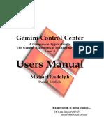 Gemini Control Center Manual