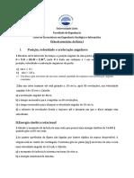 Ficha de Rotacao 1