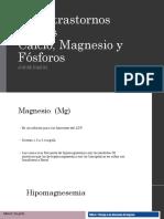 Calcio Magnesio y Fosforo