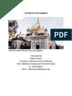 Sufi Saints of Aurangabad