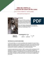 garcía Gómez, Roferto F. Sima del Portillo. el mayor desnivel del cañón del rio lobos