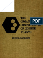 The Organic Constituents of Higer Plant