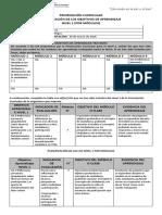 2. Tercero Medio - Educación Ciudadana - Planificación OA NIVEL 1 por módulos (Autoguardado)