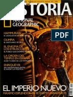 Historia National Geographic 022 2005.12 - El Imperio Nuevo. Máximo explendor en el Egipto faraónico