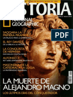 Historia National Geographic 023 2006.01 - La muerte de Alejandro Magno. Los últimos días del conquistador