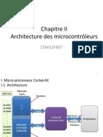Chap II Architecture des microcontrôleurs.pptx
