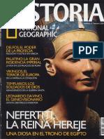 Historia National Geographic 052 2008.06 - Nefertiti, la reina hereje. Una diosa en el trono de Egipto