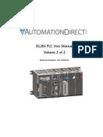 DL205 PLC User Manual Vol 2
