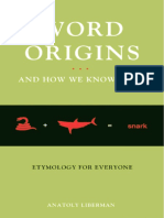 Anatoly Liberman - Word Origins And How We Know Them_ Etymology For Everyone (2009, Oxford University Press) - libgen.lc
