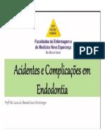 acidentes e complicações