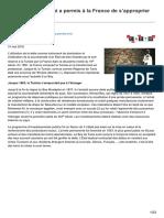 La dette  l'arme qui a permis à la France de s'approprier la Tunisie
