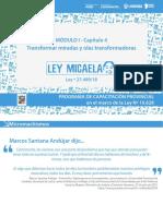 06 Mod I - Cap 4 - Ley Micaela - 2020 2