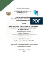 Caracterización estructural del sistema de producción de alpacas en Huancavelica.pdf