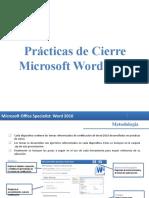 PC Word 2010