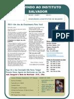 Newsletter 1 Jan 2011