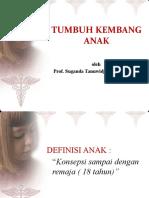 Tumbuh Kembang Anak (Prof. Suganda)