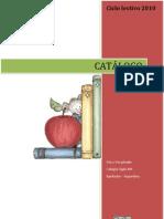 Catálogo De libros 2010