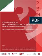 Implementazione Programma Patient Blood Management