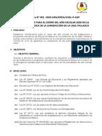 Directiva FIN AÑO 2020 - UGEL P.2