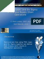 CPI Intel TOC Lean Six Sigma May 2008