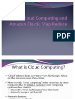 Cloud Computing and Amazon Elastic Map Reduce