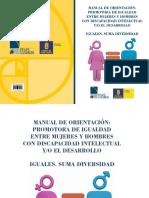 2. Manual de Orientación. Iguales. Suma Diversidad (Lf)