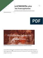 Les 47 locutions latines les plus utilisées par les francophones _ La langue française